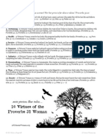 10 Virtues of the p31 Woman