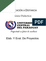 Elab. Y Eval. De Proyectos - Unidad IV + Trabajo Práctico N° 4