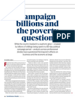 Campaign Billions and the Poverty Question