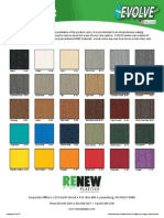 color chart evolve - new