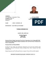 Jose Monzon Jr - Resume