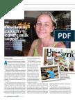 Developing Capacity to Ensure Milk Supply