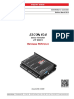 409510 ESCON 50 5 Hardware Reference En