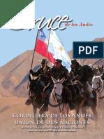 Cruce de los Andes. Cordillera de Los Andes, unión de dos naciones