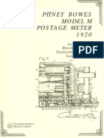 114 Pitney Bowes Model M Postage Meter