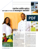 Local Enterprise Adds Spice to Pret a Manger Model