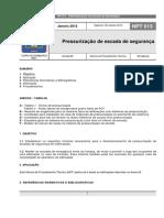 NPT 013-11 - Pressurizacao de Escadas