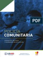 176480694 POLICIA COMUNITARIA Concepto Metodos y Escenarios