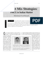 Product Mix Strategies Fmcg