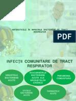Antibioterapia in Infectiile Bacteriene de Tract Respirator 1
