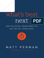 Whats Best Next by Matt Perman (Excerpt)