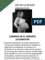 Cambios en La Mujer Embarazada