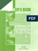 Enterprise 1 Teachers Book