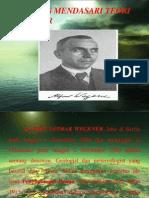 Hal Yang Mendasari Teori Wegener