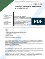 NBR 14039 - 2004 - Instalações Elétricas de Média Tensão