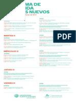 Programa alumnos nuevos 2014