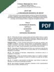 Lei Orgânica Municipal de Arcos ATÉ  Emenda 17
