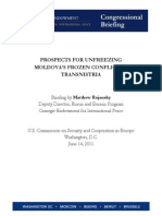 PROSPECTS FOR UNFREEZING