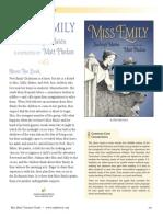 Miss Emily by Burleigh Muten Teachers' Guide