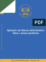 Libro Largo de Silencio Administrativo.