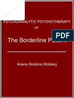 Arlene Robbins Wolberg - The Borderline Patient