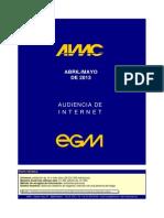 EGM 2012 (Resumen Internet)
