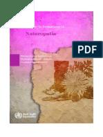 Riferimenti Per La Formazione in Naturopatia