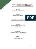 Ecosistemas en Mexico 1.1 (16-Dic-2013)