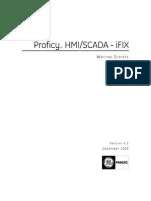 iFix-Writing Scripts | Visual Basic For Applications | Scripting
