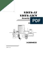 ADT Vista 15 UserGuide