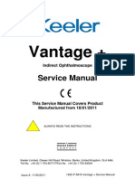 Keeler Vantage Plus Ophthalmoscope - Service Manual