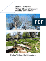 Philips Sylvan Hall Cemetery Restoration