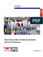 Overview of Textile Industry in Vietnam