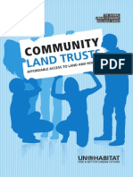 80607323 Community Land Trusts Affordable Access to Land and Housing