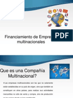 Tema 4 Financiamiento Empresas Multinacionales