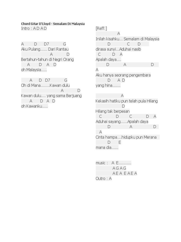 10 Chord Lagu Republik Aku Takut Chordtela Basgalanos