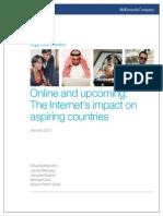 Internet in Aspiring Nations Report April 2012