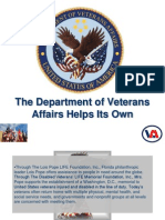 The Department of Veterans Affairs Helps Its Own