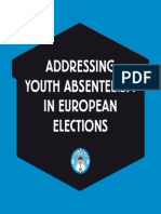ADDRESSING YOUTH ABSENTEEISM IN EUROPEAN ELECTIONS