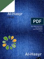 Al-Hasyr 18-20
