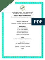 ESTRUCTURA DE UN ESTUDIO DE INVESTIGACIÓN DE MERCADOS