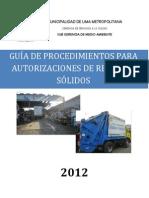 Guia Informativa DGRS