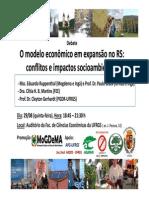 Painel - Modelo de Desenvolvimento e Impactos e Conflitos No RS -29!08!13