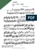 Ficher Tres Piezas Piano
