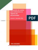 La devolución de cuotas para autónomos pluriactivos - 2014 - IFRA ASESORES