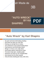 Auto Wreck by Kark Shapiro