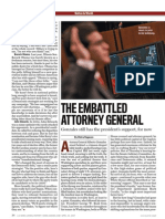 Alberto Gonzales Files - US News - The Embattled Attorney General (article)