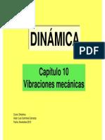 Dinámica-Capítulo 10 - Vibraciones mecánicas