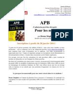 APB Pour Les Nuls