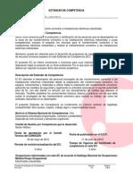 SEP-CONOCER-Estandar de Competencia EC0215-Electricista Industrial